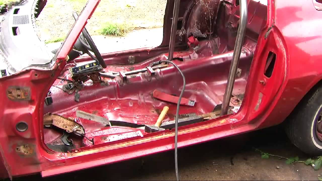Roll Bar Installation Building A Pure Stock Race Car