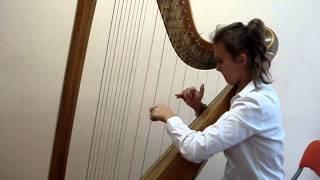 A. Hasselmans - Serenade melancolique harp - Alice Hristodor Iassy Romania