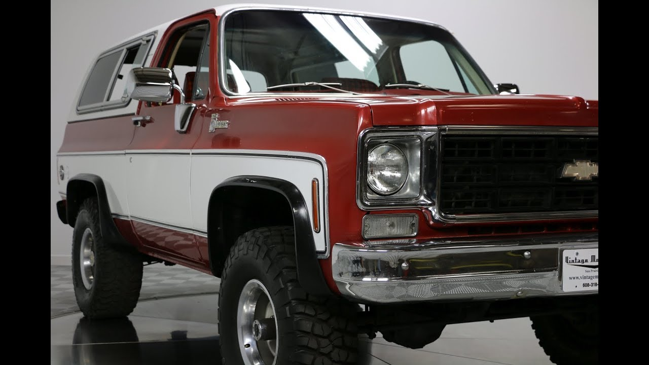 1978 Chevrolet K5 Blazer - Vintage Motorcars - Sun Prairie ...