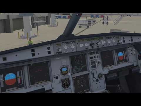 [4K] FlightFactor A320 KPSP to KABQ Full Flight Procedures + RNAV + PilotEdge ATC