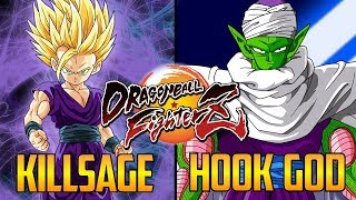 DBFZ ▰ DeKillSage Vs HookGangGod 【Dragon Ball FighterZ】