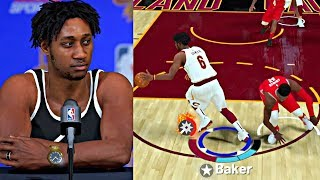 EXPOSING CARMELO ANTHONY! TRASH TALKING IN THE INTERVIEW AFTER ANKLE BREAKER! - NBA 2K19 MyCAREER