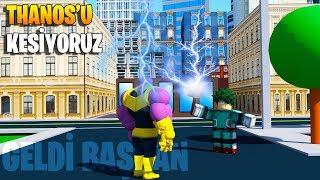 ???? Thanos'u Öldürdük! Thor'un Çekicini Aldım! ???? | Heroes Online | Roblox Türkçe