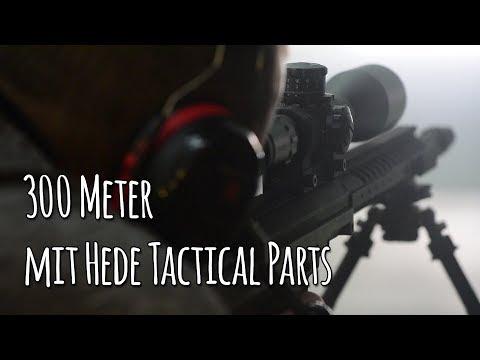 300 Meter mit HEDE tactical parts, DESERT TECH und Rößler - Let's Shoot #138