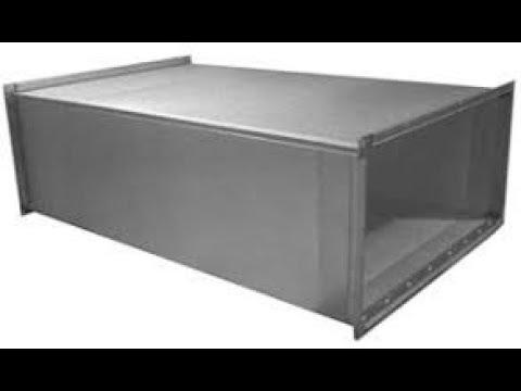 Прямоугольные воздуховоды оцинкованные для вентиляции. Как и где применяются?