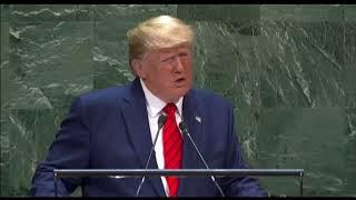 Live: Выступление президента США Дональда Трампа на Генассамблее ООН