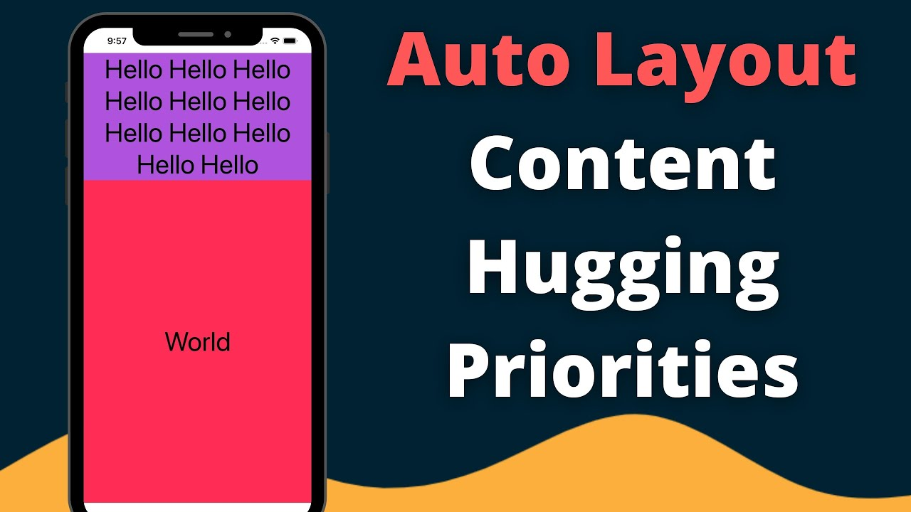 Swift: Auto Layout Content Hugging Priority (Demystifying iOS) – 2021