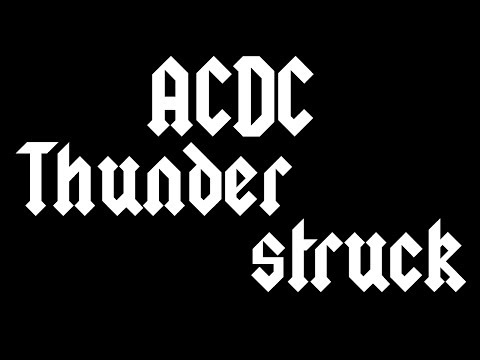 Instrumentalz : ACDC  Thunderstruck