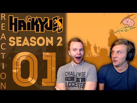 SOS Bros React - Haikyuu Season 2 Episode 1 - Showdown of the Giants!!