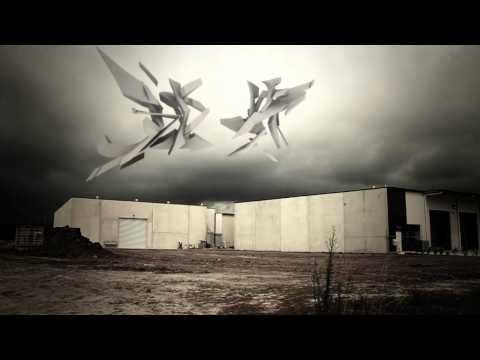 3d animated graffiti - sketch 43 industrial