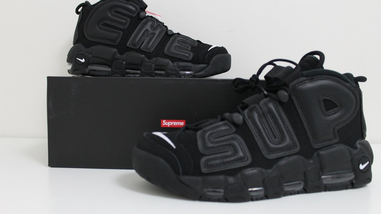 5b7b3e22ef4 SUPREME BLACK UPTEMPO REVIEW