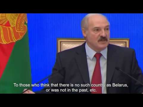 "Lukashenko warns Moscow against ""Russian world"" in Belarus. (English)"