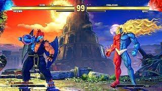 Street Fighter 5 - GILL Final Boss (Arcade Mode) HARD Difficulty @ 1440p (60ᶠᵖˢ) ✔