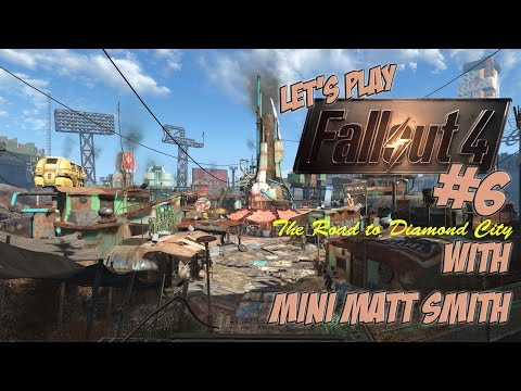 Lets Play Fallout 4 part 6 gameplay with Mini Matt Smith