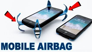 A Clever Mobile Airbag : German Engineering Student Philip Frenzel | Phone Shatter-Proof