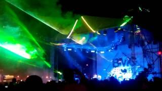 Лазерное рок-шоу группы Be My Guest