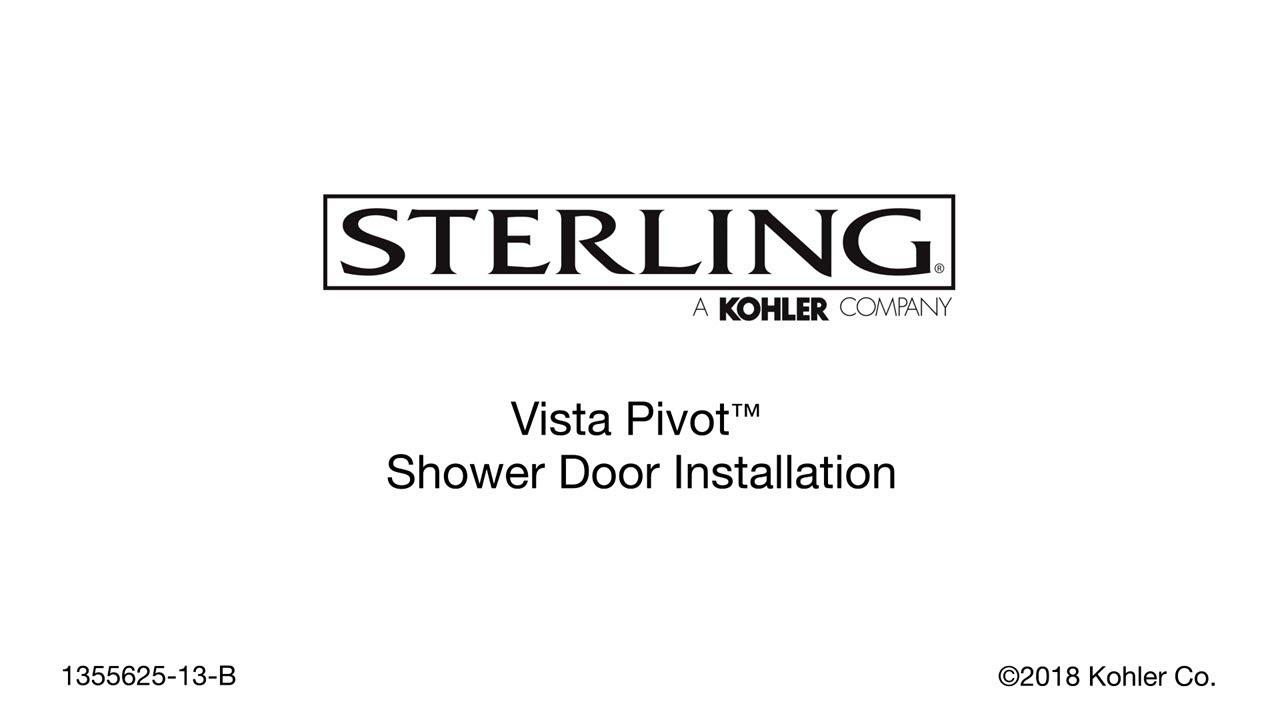 Installation - Vista Pivot Shower Doors