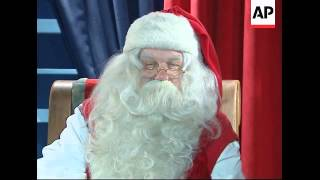 Christmas Wishes From Santa As He Prepares To Leave Lapland