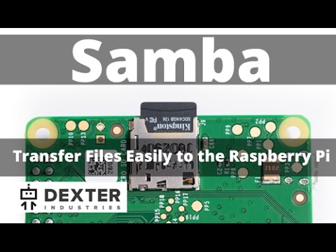 Transfer Files Between Your PC and Your Raspberry Pi