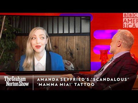 Amanda Seyfried's Scandalous 'Mamma Mia!' Tattoo 🧐 The Graham Norton Show | Fri 11/10c | BBC America