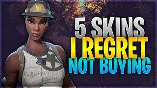 5 Skins I Regret Not Buying (Fortnite: Battle Royale)