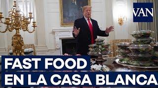 Burger King, Wendy's y McDonald's, el menú de la Casa Blanca