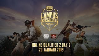 PUBG Mobile Campus Championship - Online Qualifier 2 Day 2