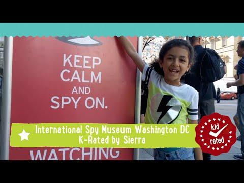 International Spy Museum, Washington DC K-Rated by Sierra