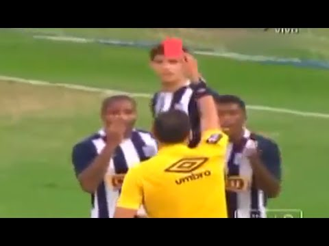 5 Red Cards in 5 Minutes (Alianza Lima - Real Garcilaso)