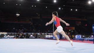 Artur Dalaloyan (RUS) FX 2019 Worlds Stuttgart   Podium Training