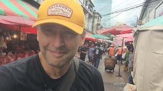 LIVE-Let's Explore Bangkok's Biggest Wet Market-Khlong Toei