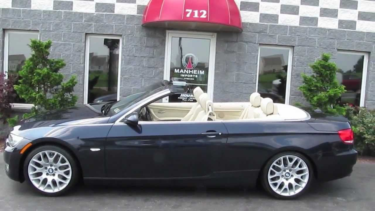 BMW I Convertible Sport YouTube - 2012 bmw 328i convertible