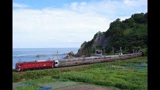 EF81 139+E26系 カシオペア紀行青森・湯沢行き 返却回送@2018.8.19
