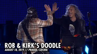 Metallica: Rob & Kirk's Doodle (Prague, Czechia - August 18, 2019)