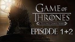 GAME OF THRONES - A Telltale Games Series 🐺⚔️ [LIVE] #01 Episode 1 + 2 [Cam] Deutsch / English