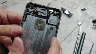 Iphone 6+ / Домашний реф собственными руками / Полная переборка