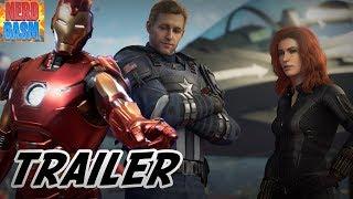 Marvel Avengers Game Trailer - Easter Eggs and Breakdown of Spider-Man MGU