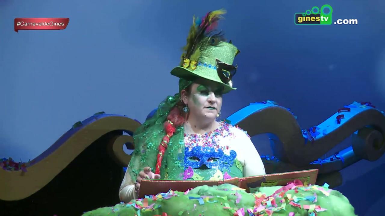 Pregón del Carnaval de Gines 2018 a cargo de Ele Gordillo Tallafet