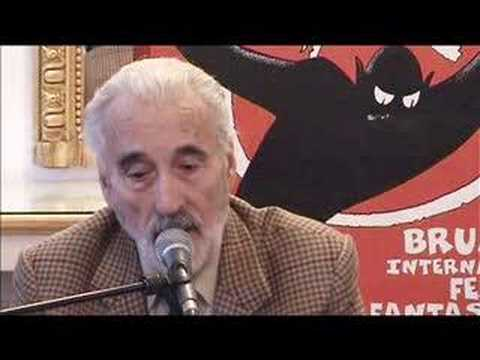 Christopher Lee talks about his favorite role