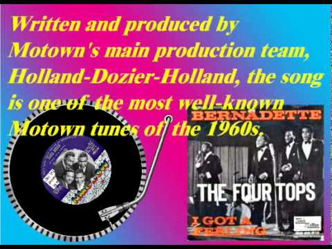 The Four Tops - Bernadette (Feb. 1967)