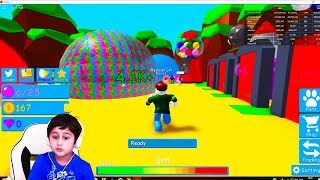 Bubble gum simulator Roblox game for kids funny game for children