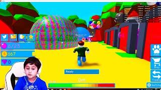 Bubble gum simulateur Roblox jeu pour les enfants jeu amusant pour les enfants