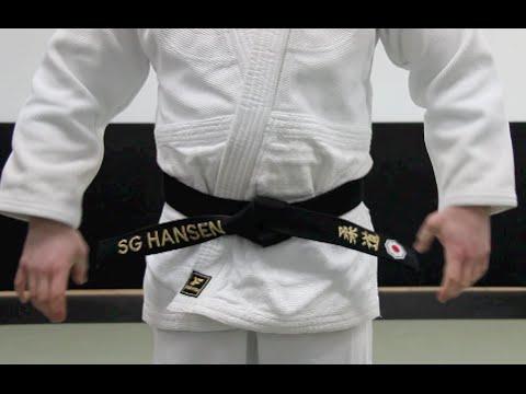 Comment attacher sa ceinture. Judo Torakai 0dfddb1df81
