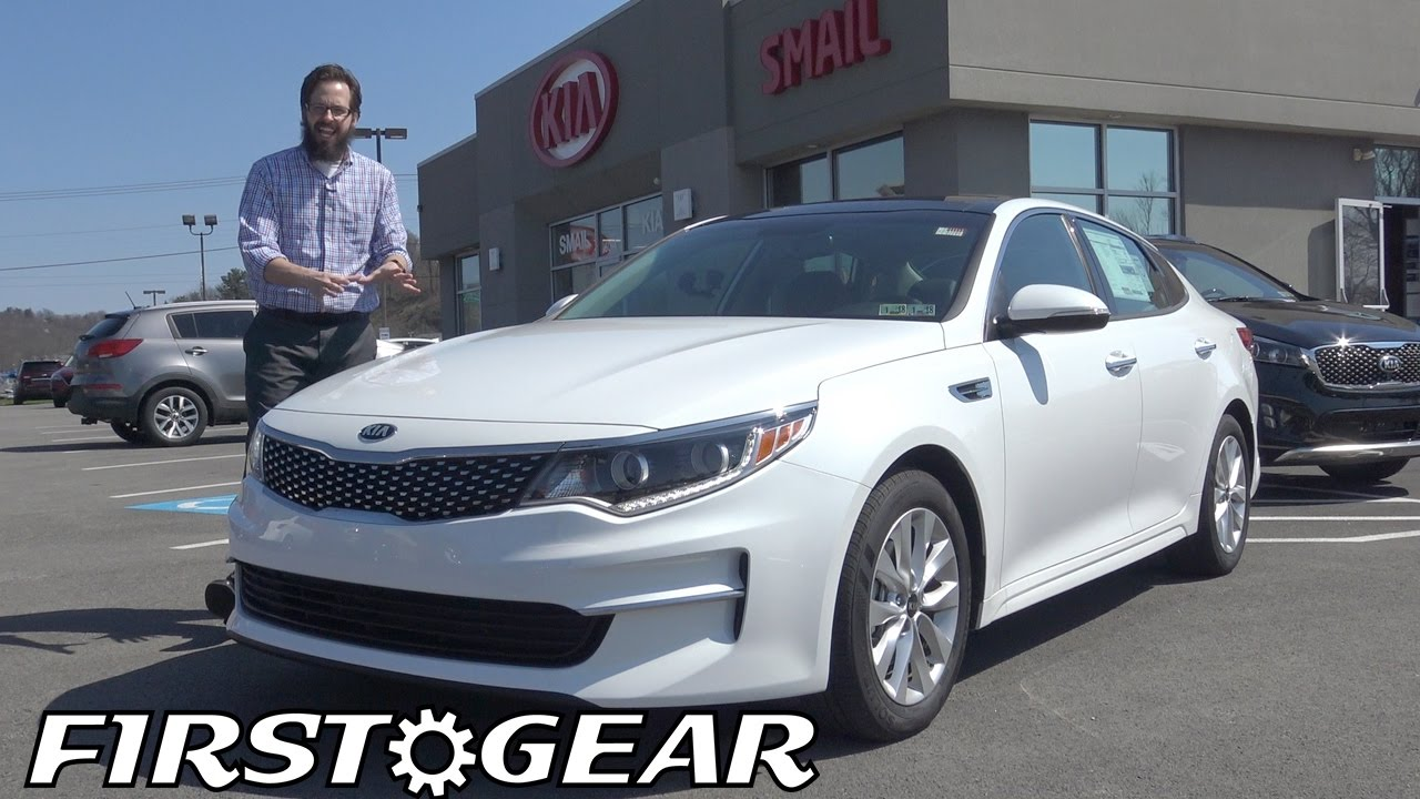 2017 Kia Optima Ex First Gear Review And Test Drive