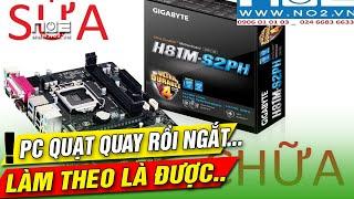 Mainboard gigabyte h81 kích ngắt hướng dẫn sửa triệt để
