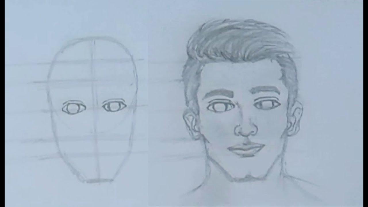 تعليم الرسم بالرصاص الحلقة 5 تعليم رسم الوجه خطوة بخطوة