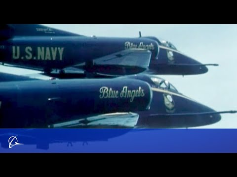 50 Years of Blue Angels Flying Boeing and Heritage Aircraft