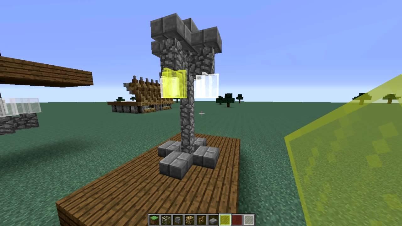 how to make a modern chandelier in minecraft