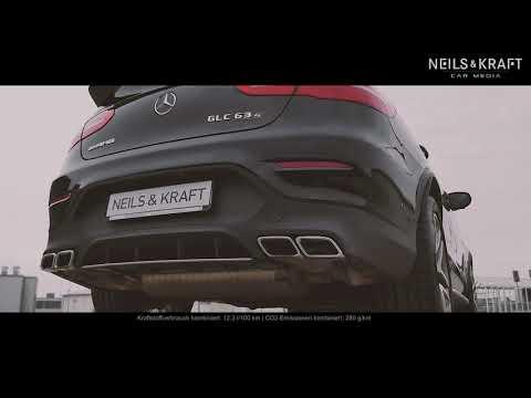 Mercedes-AMG GLC 63 S Coupé 4MATIC+ V8 BiTurbo | SOUND | COLDSTART REVS & RACESTART
