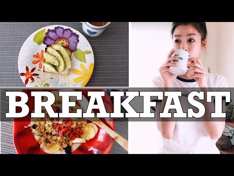 【一週間の朝ごはんを公開】ヘルシーライフを支える簡単レシピ7選!